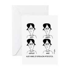 Range of Emotions Botox Greeting Card
