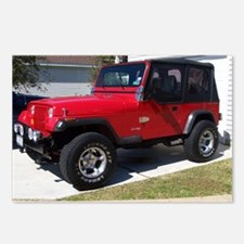 Jeep 3 2010 002 Postcards (Package of 8)