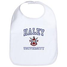 HALEY University Bib