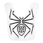 tribal spider design.png Bib