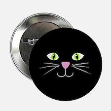 """'Black Cat' 2.25"""" Button"""