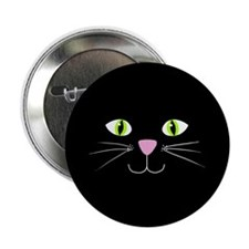 "'Black Cat' 2.25"" Button (100 pack)"