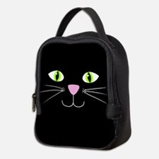 'Black Cat' Neoprene Lunch Bag