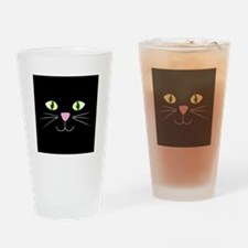 'Black Cat' Drinking Glass