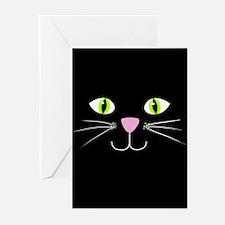 'Black Cat' Greeting Cards (Pk of 10)