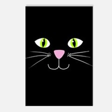 'Black Cat' Postcards (Package of 8)