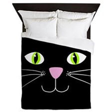 'Black Cat' Queen Duvet