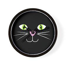 'Black Cat' Wall Clock
