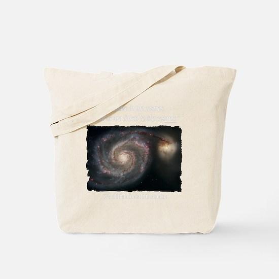 Cosmos T-Shirt-Dark Tote Bag