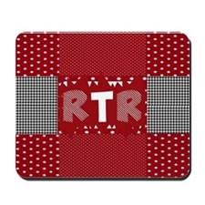 RTR houndstooth Mousepad