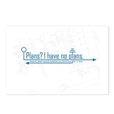 plans Postcards (Package of 8)