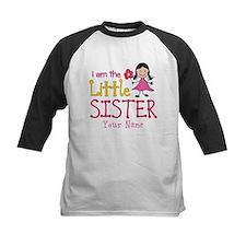 Little Sister Stick Figure Girl Tee