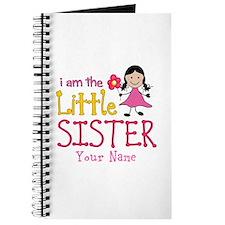 Little Sister Stick Figure Girl Journal