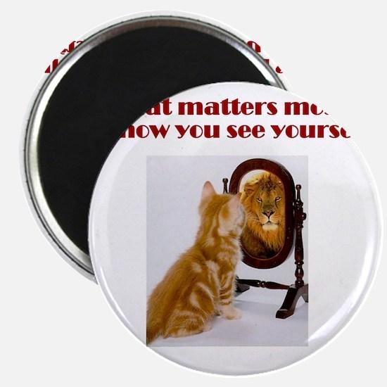 cat-lion Magnet