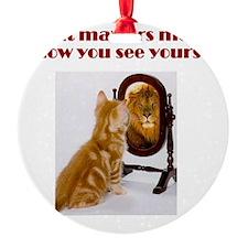 cat-lion Ornament
