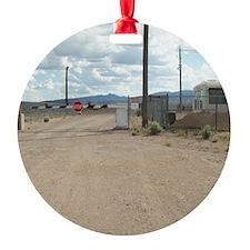 Rachel Back Gate Round Ornament