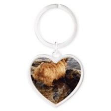 donnerlakedigging Heart Keychain