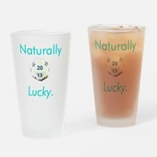 naturallyluckytransparent800x1000 Drinking Glass