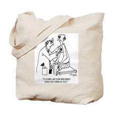 Investments Need a Check Up Too Tote Bag
