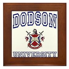 DODSON University Framed Tile
