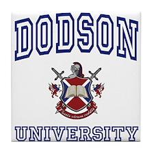DODSON University Tile Coaster
