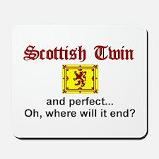Scottish Twin (Perfect) Mousepad
