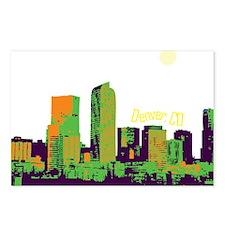 DenverSkyline Postcards (Package of 8)