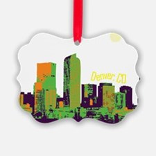 DenverSkyline Ornament
