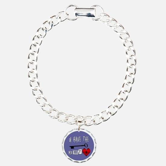 You Have the Key to my H Bracelet