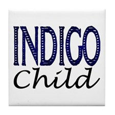 ...Indigo Child... Tile Coaster