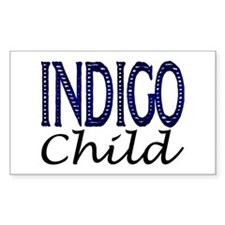 ...Indigo Child... Rectangle Decal