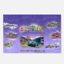Calendar Shopping is a Dr Postcards (Package of 8)