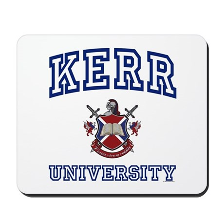 KERR University Mousepad