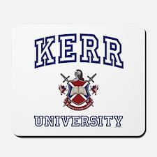 KERR University Mousepad