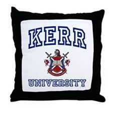 KERR University Throw Pillow