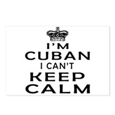 I Am Cuban I Can Not Keep Calm Postcards (Package