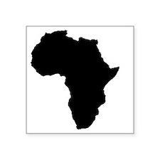 "africa Square Sticker 3"" x 3"""