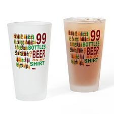 99bottles_fullcolor_3 Drinking Glass