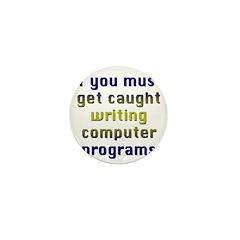 Copmuter Progamer Mini Button (100 pack)