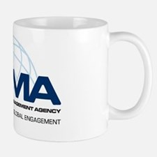 DCMA Brand on Light Background Mug