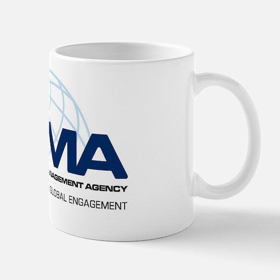 DCMA Brand on Light Background Mug