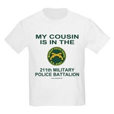 My Cousin Is In The 211th MP Battalion