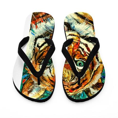 10x10_tiger3 Flip Flops