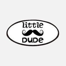 Mustache Little Dude Patches