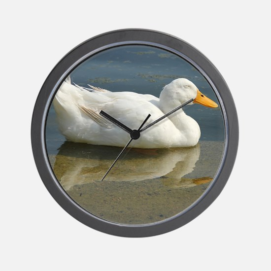 duck_mouse Wall Clock