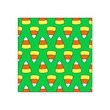 """'Candy Corn' Square Sticker 3"""" x 3"""""""