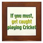 Cricket Framed Tile