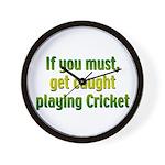 Cricket Wall Clock