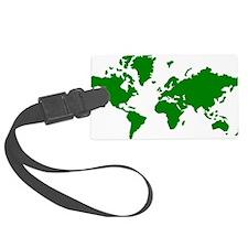 world_map Luggage Tag