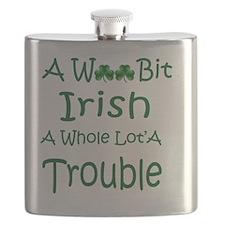 Irish Trouble Flask